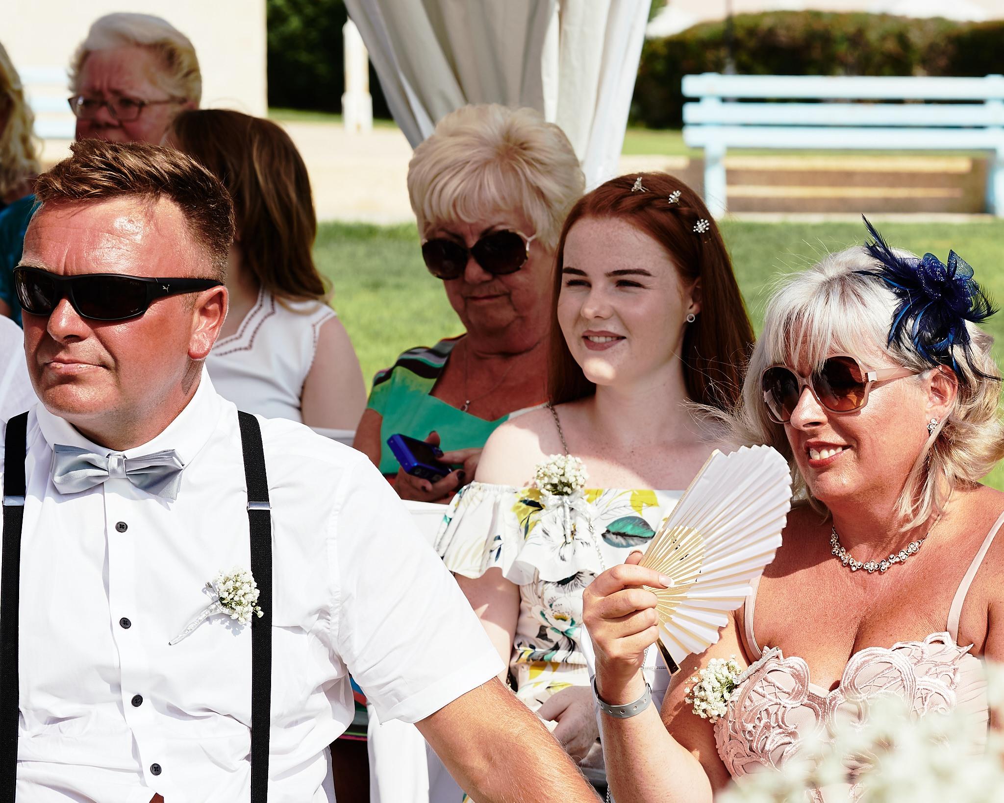 Wedding photograph, taken in Cyprus by Richard King